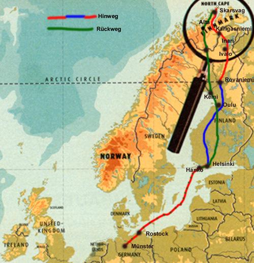 Verwandte suchanfragen zu nordkap karte